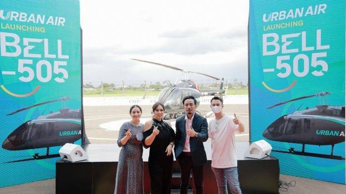 Hadir di Acara Launching Helikopter, Nagita Slavina Ketahuan Pakai Dress Rp 50 Juta