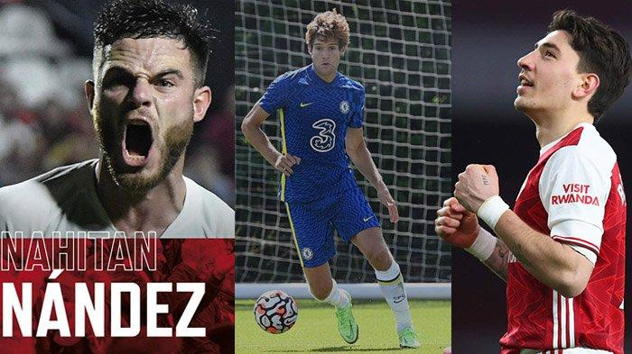 Transfer Inter Milan - Dapatkan Nahitan Nandez, Inter Buru Marcos Alonso & Hector Bellerin