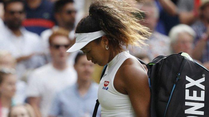 Petenis Jepang Naomi Osaka Putuskan Tidak Ikut Turnamen Tenis Grand Slam Wimbledon