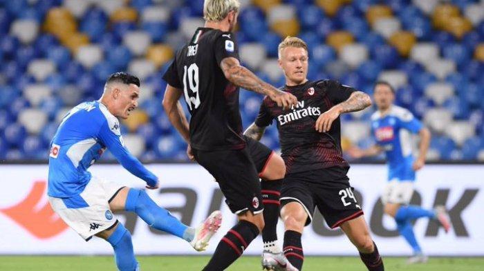Hasil Liga Italia: Tahan Imbang Napoli, AC Milan Perpanjang Rekor Tanpa Kekalahan di 6 Laga Terakhir
