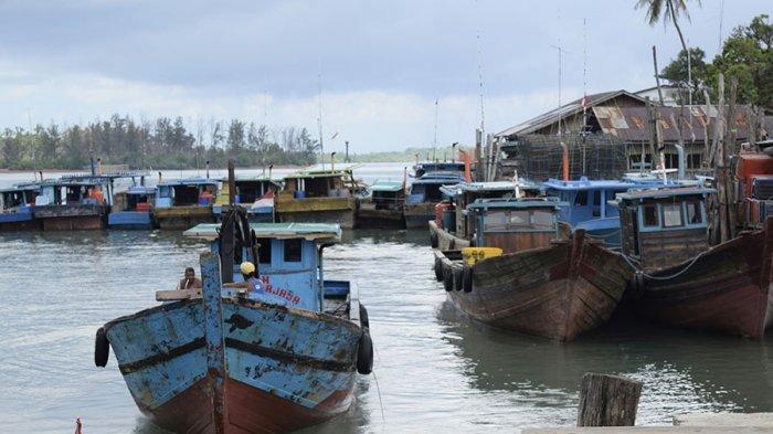 Perahu nelayan di Bintan