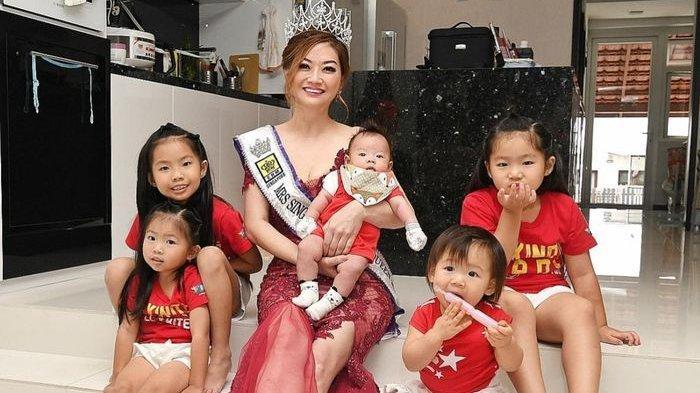Tak Disangka Ratu Kecantikan Singapura Ini adalah Nenek dengan 5 Cucu