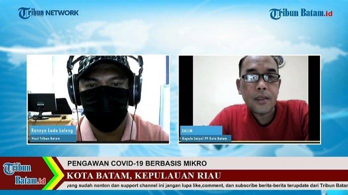 NEWS WEBILOG TRIBUN BATAM - Program News Webilog Tribun Batam bersama Kasatpol PP Batam, Salim edisi Sabtu (22/5/2021).