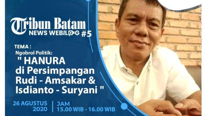 News Webilog Tribun Batam - Beda Sikap Politik Partai Hanura di Pilgub Kepri & Pilwako Batam