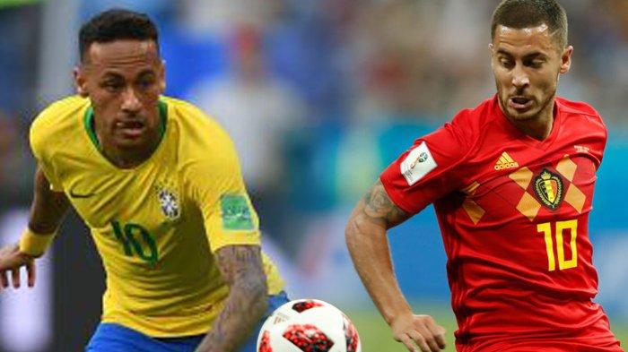 Brazil vs Belgia - Prediksi, Data dan Fakta yang Berpihak ke Brazil. Belgia: Kami Tak Takut