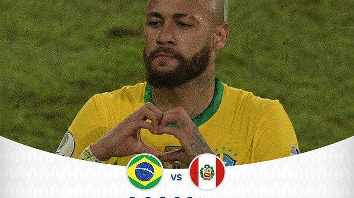 Jumlah Gol di Timnas Brazil Dekati Rekor Pele, Neymar Menangis: Ini Kehormatan Besar Bagi Saya