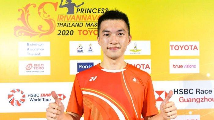 Hasil Final Thailand Masters 2020, Menang Rubber Set, Ng Ka Long Angus Juara Tunggal Putra
