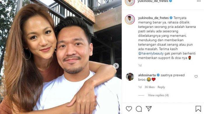 Sosok Lidya, Kekasih Nobu yang Setia di Tengah Kasus Video Pacarnya dengan Gisel