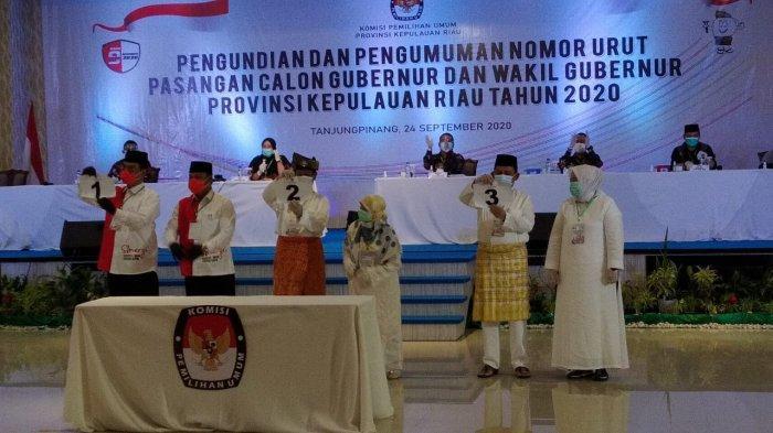 Podium Kecamatan Nongsa di Kampanye Marlin Agustina, Bawaslu Kepri Turun Tangan