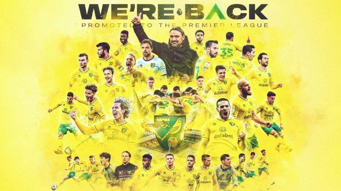 Pesaing Imbang, Norwich City Dipastikan Promosi ke Premier League Liga Inggris 2021-2022