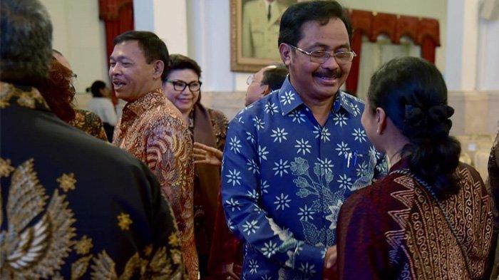 Jokowi Beri Nomor Koordinasi, Nurdin Lapor Soal Kepulauan, Gesa RUU Kepulauan Segera Disahkan