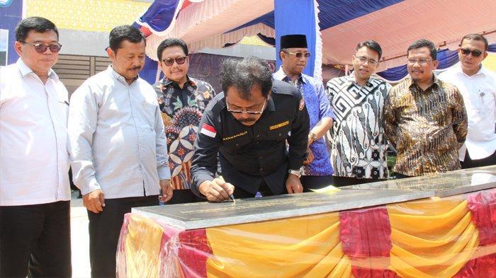 Resmikan Kantor Pengawasan SKDP Karimun, Nurdin: Sumber Daya dan Perikanan Harus Dijaga