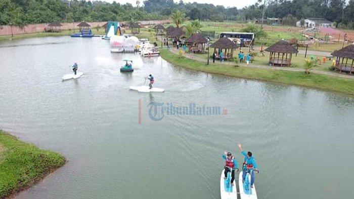 Destinasi Non-Mainstream di Bintan, Danau Cinta (Love Lake) Bikin Liburanmu Seperti di Belanda