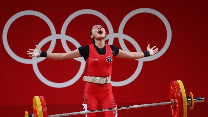 Medali Pertama Indonesia di Olimpiade Tokyo, Windy Cantika Raih Perunggu Angkat Besi