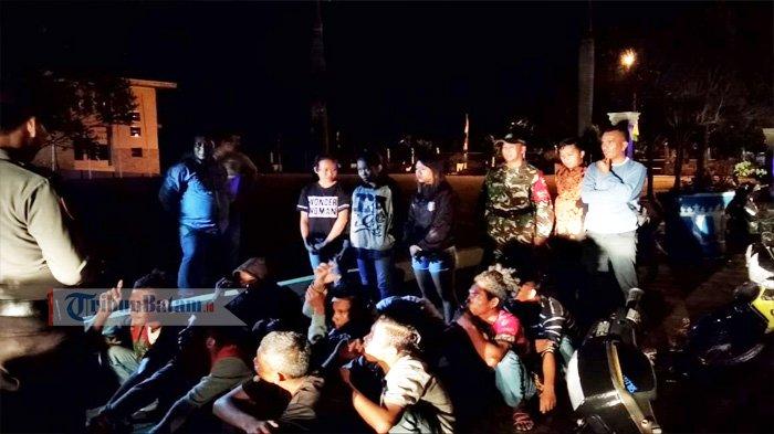 Mau Hadiri Party, 20 Remaja di Kawal Ini Keburu Diamankan Kecamatan dan Polsek Gunung Kijang
