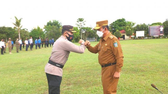 Operasi Ketupat Seligi 2021 di Polda Kepri, Rabu (5/5/2021).