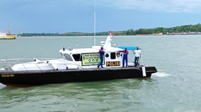 Posko bergerak pendukung Operasi Ketupat Seligi Polres Tanjungpinang.