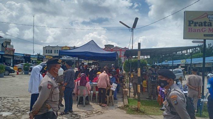 Polresta Barelang Operasi Yustisi, 3 Warga di Pasar Tiban Centre Positif Corona