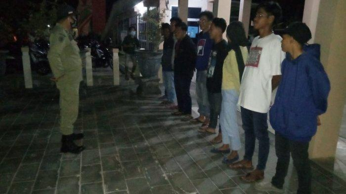 RAZIA Protokol Kesehatan di Natuna, 49 Warga Terbukti Tak Pakai Masker