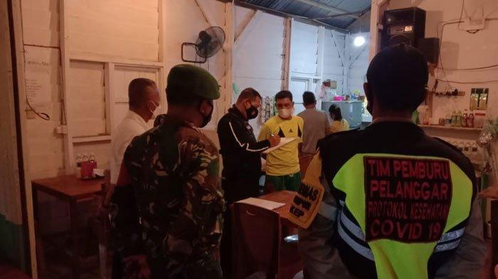 Satpol PP Lingga Segel Warung Kopi Selama 2 Hari, Nekat Buka Lewat Pukul 10 Malam