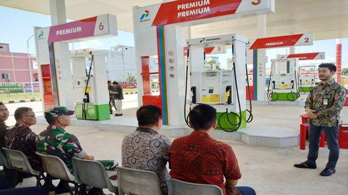 Hadirkan BBM Satu Harga,Pertamina Resmikan SPBU di Dabo Singkep