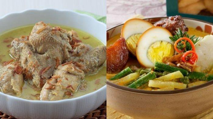 Menu Wajib Lebaran, Resep Opor Ayam dan Lontong Sayur yang Lezat