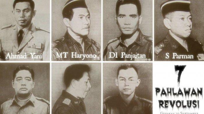 Hari Kesaktian Pancasila, Begini Kronologi Peristiwa G30S/PKI dan Daftar Nama Pahlawan Revolusi