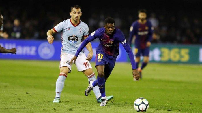 LIVE SCTV & BeIN Sport! Celta Vigo vs Barcelona La Liga Spanyol Malam Ini, Kick Off 01.45 WIB