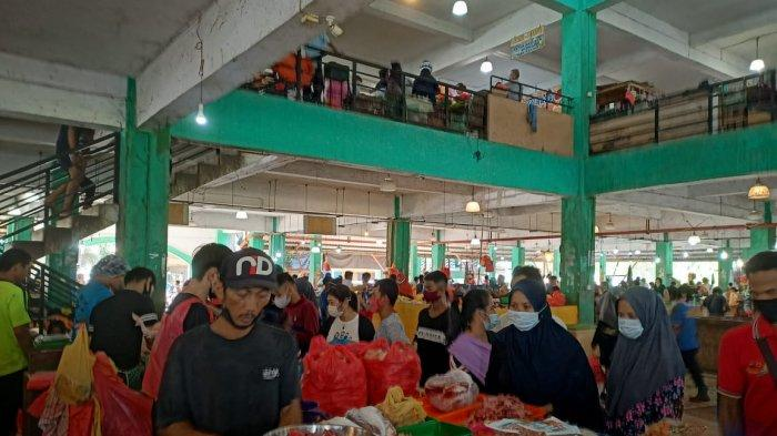HARGA Bahan Pokok di Pasar Puan Maimun dan Tanjungpinang Jelang Idul Fitri 1442 H