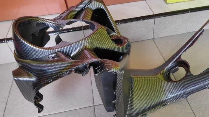 Yamaha NMAX Pakai Paket Bodi Set Carbon, Bikin Tambah Ganteng