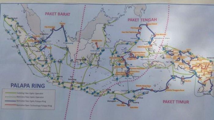 GEGARA Jangkar Kapal Asing, Sinyal Internet Palapa Ring Barat di Anambas Putus