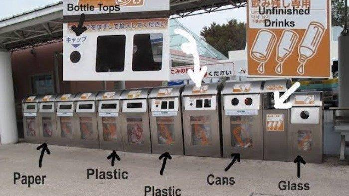 Setiap Kota Punya Aturan Sendiri, Inilah Panduan Buang Sampah di Jepang