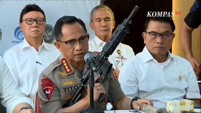 Kapolri Tito Karnavian Tegaskan Polri Tidak  Sebutkan Kivlan Zein sebagai Dalang Kerusuhan 21-22 Mei