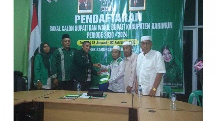Elected, Biological Brother of Nurdin Basirun Register through the PKB Party