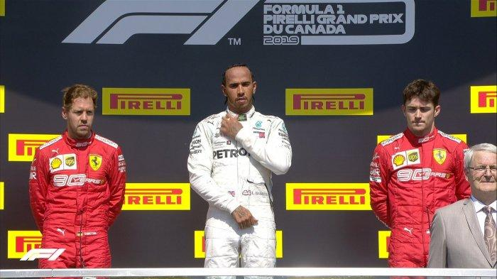 Klasemen Formula 1 Setelah Lewis Hamilton Juara F1 GP Kanada, Hamilton Puji Kecepatan Ferrari