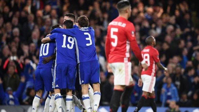 Gol Tunggal N'Golo Kante Singkirkan Manchester United di Perempat Final Piala FA