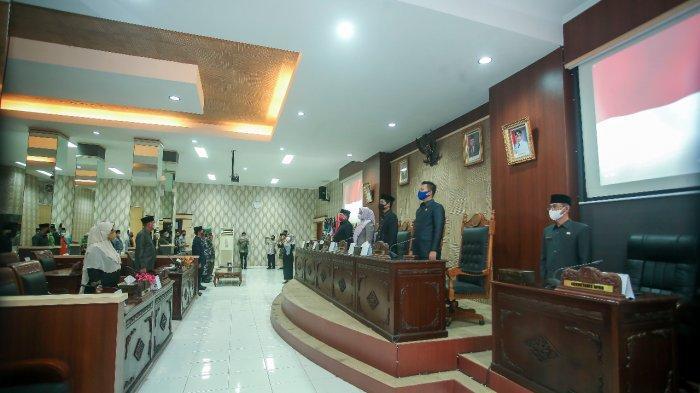 PARADE Foto Paripurna DPRD Anambas Penyampaian Rekomendasi LKPj Bupati Anambas 2020