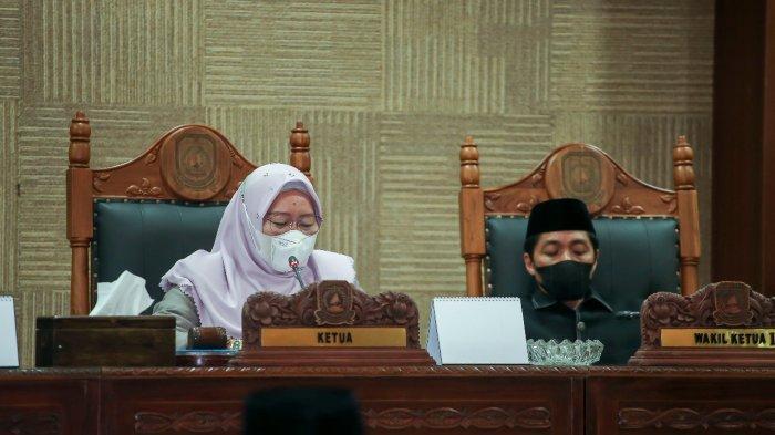Paripurna DPRD Anambas dengan agenda penyampaian rekomendasi LKPj Bupati Anambas 2020.