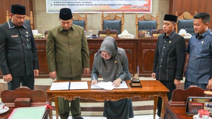 DPRD Kabupaten Kepulauan Anambas Gesa Dua Ranperda Jadi Produk Hukum