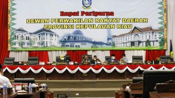 Paripurna Ranperda RPJMD Kepri, Gubernur: Standar Pelayanan Minimal Belum Tercapai