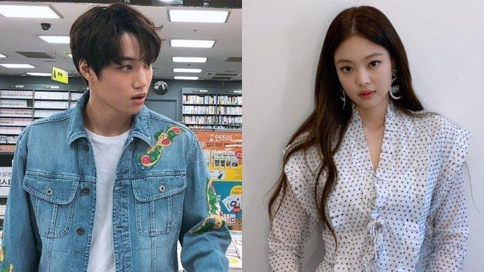 Benarkah Kai EXO dan Jennie Blackpink Pacaran? Ini Pernyataan Agensi Kedua Penyanyi