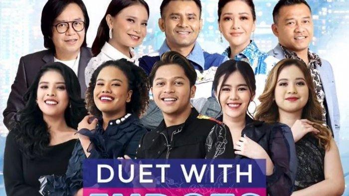 Daftar Pasangan Duet TOP 5 dengan Juri Indonesian Idol, Tayang Besok, Senin (14/3)
