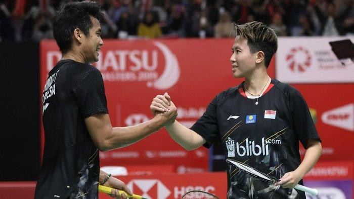 Hasil Akhir Indonesia Master 2019 - Tontowi/Liliyana (Owi/Butet) Kalah dari Pasangan China
