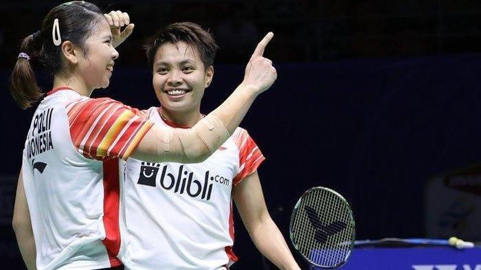 Hasil Malaysia Master 2020 - Menang 2 Set Langsung, Greysia Polii/Apriyani Rahayu ke Semifinal