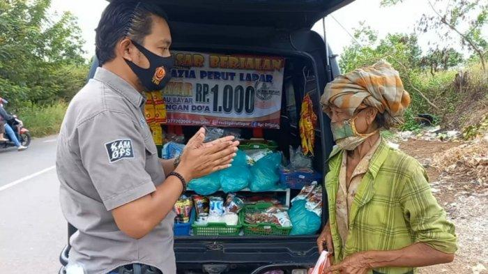 Aksi Bripka Zulhamsyah Putra, Setelah Razia Perut Lapar, Kini Pasar Berjalan Rp 1000
