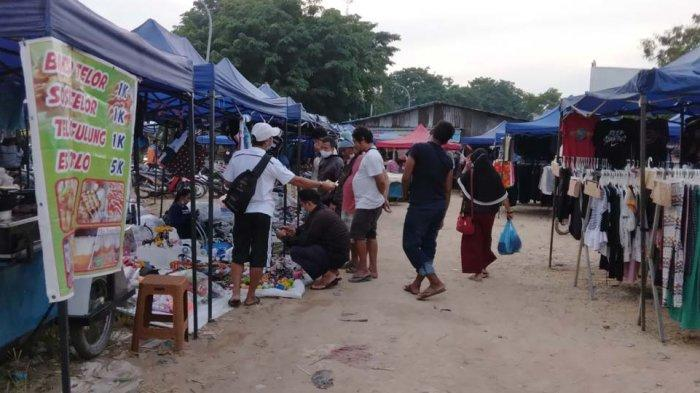 Pasar Kaget Sagulung Tetap Beroperasi saat Pandemi, Dilema Pedagang dan Pemerintah