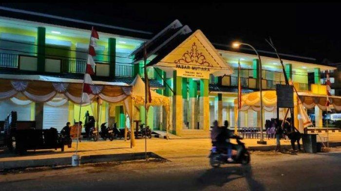 Pasar Baru di Kundur Karimun Itu diberi Nama Mutiara Tanjung Batu, Dibangun Sejak 2018