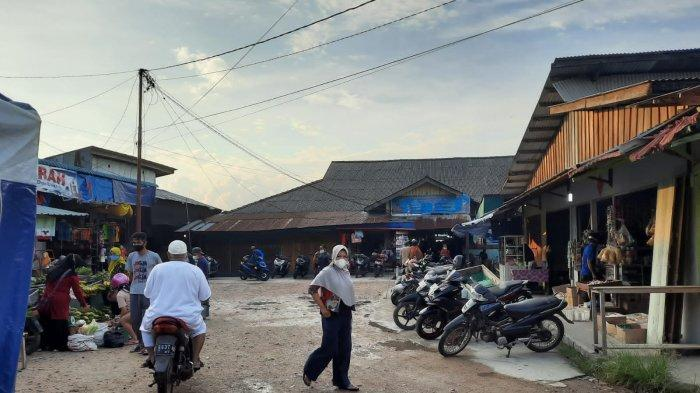 Pedagang Pasar Ranai Keluhkan Omzet, Pemkab Natuna Evaluasi PPKM Level 3