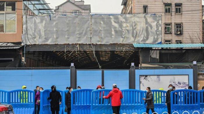 Dijaga Ketat dan Tertutup, Tim WHO Mulai Selidiki Asal-usul Covid-19 di Pasar Seafood Wuhan