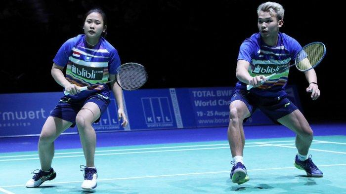 Live Streaming Bulutangkis SEA Games 2019, Rinov/Pitha Kalah, All Indonesia Final Urung Terjadi